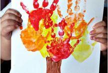 Kindergarten Stuff / Askarteluideoita lapsille ja materiaalia päiväkotiin