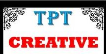 """""""TPT"""" Creative Minds / This is a collaboration board for YOU if you would like to join. Please let me know through my store, https://www.teacherspayteachers.com/Store/Never-Give-Up-On-Math. Thank you for keeping this board ALIVE  & differentiated.  Feel free to invite others to follow this board and collaborate.  JUST KEEP PINNING :-)"""