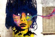 STREET ART / #streetart #graffiti #murales  Street art and graffiti from around the world