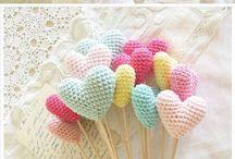 Needlework - handarbete / Crochet, embroidery, knitting and needlework - handarbete som virka, brodera, sticka
