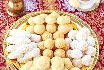 Syrian Baking and Desserts / http://www.orangeblossomwater.net