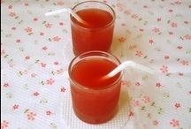 Syrian Drinks / http://www.orangeblossomwater.net