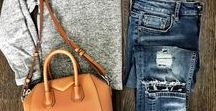 Denim everywhere!! / Jeans,jacket every day,in every ocasion!!