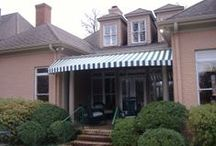 Awnings / Beautiful residential and commercial awnings installed by Memphis Delta Tent & Awning Company.