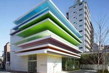 architektura z kolorem
