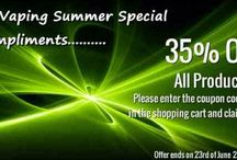 Offers / Amazing offers on premium electronic cigarette starter kits and e-liquids.