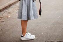 SNEAKERS LADIES / #sneakers #ladies #woman #streetstyle