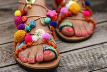 greek sandals*