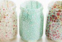 Glass Jars..arts and crafts