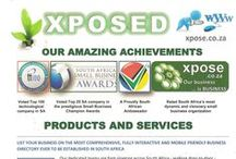 Xpose - 4 Page Brochure / Products and Services