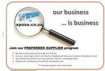Xpose - 8 Page Brochure / Products and Services