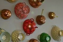 Upcycle lights / Wall lights, lamps and chandeliers made from upcycled objects