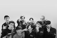 EXO♡ / bias: sehun but all of them are wrecking him, right jongin?:')