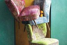 SILLAS y SOFAS / Estos objetos tienen un maravilloso diseño, color, forma y uso. Es uno de los mejores inventos de la humanidad. / by Rosabel Martínez Pinzón