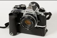 Nikon Cameras / Nikon cameras and lenses, accessories, etc / by Stuart Palmer