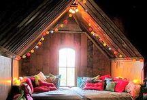 Välkommen till mitt sovrum / drömmar