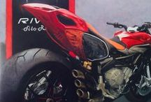 painting NOW / MV agusta revale