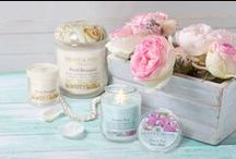 Spring is in the air! / Heart & Home spring fragrances - candles, votives, tealights, waxmelts and accessories for the home