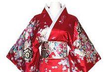 kimono jamponais femme / kimonos japonais geisha
