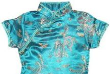 robe chinoise enfant / robe chinoise fille de 2 ans à 14 ans http://www.laciteinterdite.com/robe-chinoise-enfant.htm