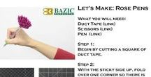 DIY with Bazic Products / Step-by-step tutorials on how to create fun and easy DIY crafts! All of which can be done using your favorite Bazic Products.