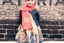 Kid Style / Clothes for children:  Childhood is so brief, so I favor clothes that embrace kids as just that (not mini-adults, ever)!  I love classic and childish silhouettes, whimsical details and patterns, mixed colors, and a wardrobe that allows a child to play! / by Kimberly Eaton