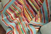 knit blanket & afghans