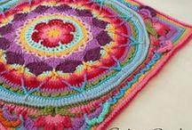 Crochet Squares / Granny Squares & more