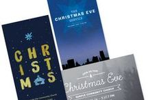 Christmas Mailers / Custom church mailers designed for Christmas, plus a few that we pinned! Grow your church with d2design. We offer targeted church marketing, mailers, brochures, bulletins and custom design. Visit the blog at blog.d2design.com