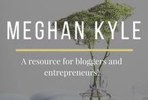 Meghan Kyle / Catch all of the latest helpful tips and information from Meghan Kyle on how to market yourself and/or your business online. MeghanKyle.com covers social media, email marketing, site optimization and more. Find answers to your blogging, entrepreneur and online marketing questions here!