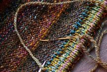 Needlework and woolens / by Martela White