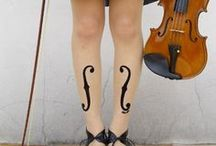 Fabulous Fiddle Fashion / Wearable music themed clothing and accessories