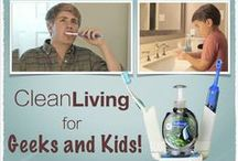 NEW Product - Clean Living! / Learn to Brush Teeth and Wash Hands...and have FUN while doing it!!!