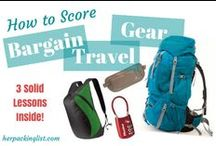 Travel Gear / Stuff that I need or should research