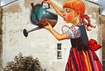 Street Art / A sampling of street art from around the world!