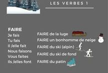 French verbs / Learn how to conjugate in French.