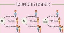 French possessive adjectives / How to use the possessive adjectives in French.