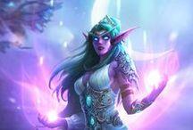 Warcraft - Night elves