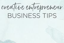 Business Tips for Creative Entrepreneurs / Business tips for creative entrepreneurs to help you streamline your processes and grow your business. These marketing, branding, social media, and organizational tips are perfect for the creative business owner, small business owner, or entrepreneur looking to grow their business.