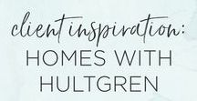 Client Inspiration: Homes with Hultgren / Client inspiration for Jax based realtor, Homes with Hultgren. Branding and website design inspiration.