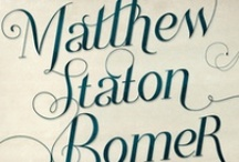Matt Bomer :: Typography / Matt plays a role-part as Neal Caffrey, the ex con artist who works together with the FBI in the popular series White Collar.