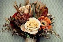 Bouquets & Boutonnières / Gorgeous flower arrangements for the ladies and gents....