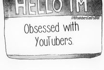 //i can't stop watching youtubers// / .internet kids never sleep. / by Ysabella Delgado