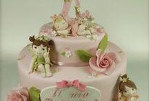 Torte di compleanno, decorazioni per torte, dolci. / Dolci in generale / by Giuliana B.