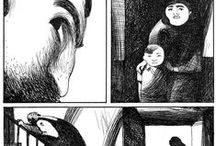 sliced life / comics and book illustration, inspiration