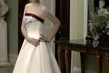 Wedding Dresses / Although I am single, I like to safe these dresses which I found years ago, hoping to marry (didn't work out).