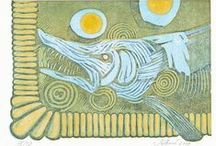 by my hand and mind / a small gallery of my own graphical work - mostly linocuts and drawings
