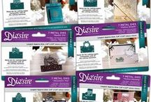 Die'sire Festive Edge'ables - HSN October 5, 2016 / The Edge'ables range of dies have been developed to be used in a variety of ways – because the bottom and sides of the die doesn't cut, you can line the dies up against the card spines to make statement pop-up cards as well as being used as borders or even on all four edges on a square piece of cardstock to create a frame. However they're used, one thing's for sure – these terrific dies will definitely add the wow factor to crafting projects! See these dies on HSN Oct 5, 2016