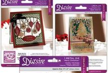 Die'sire Festive Create-a-Card dies / Cut your own decorative card blanks with this selection of base card dies from Die'sire.