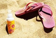 Baby care products / Natural baby care: shampoo, sun lotion, body creams...